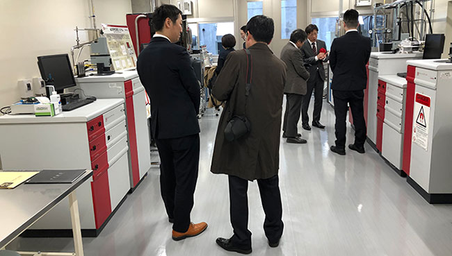 QD Japan and Tohoku University Open Joint Laboratory